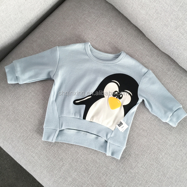 Factory Wholesale printed Cotton penguin t shirt