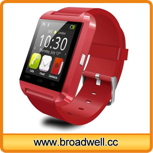 Colorful Cheapest Capacitive Screen Barometer Altimeter Pedometer U8 Smart Watch