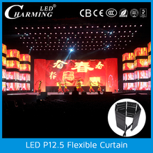 New series Soft LED display P12.5 High quality and brightness