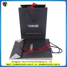Factory cheap paper bag printing, advertising paper bag for gift with high quality