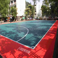 TOP SALE PP interlocking sports flooring for futsal courts, outdoor