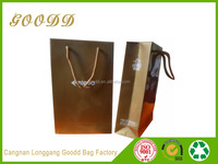 Eco friendly custom printed foil shopping gift paper bag with logo print