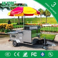 HD-23 thailand hot dog cartmobile snack hot dog cart mobile food scooter hot dog cart
