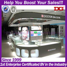 West field style beauty kiosk design for comestic shopping mall