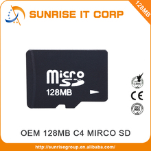 100% Full capacity oem cheap bulk micro 128mb sd card