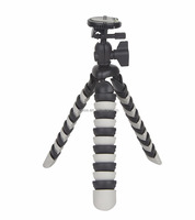 E-reise Min Flexible Octopus Tripod with Universal 1/4-inch Screw Mount for Phone and Digital, DSLR and Video Cameras