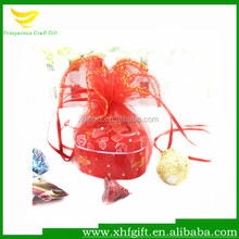 Organza circle, organza tulle bags for gift