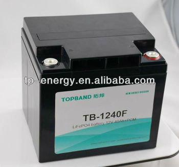 12V 50Ah rechargeable lifepo4 battery pack
