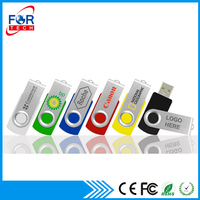 China Manufacturer High Quality Pendrives, Colorful Plastic Swivel Bulk 1GB USB Flash Drives