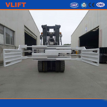 1 ton forklift truck cotton bale clamp with 400 mm-1400 mm open range