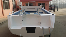 SANJ cheap weld aluminium boat with best price for sale