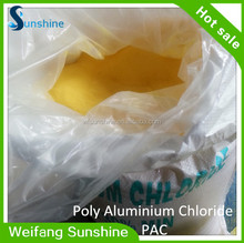 High Purity poly aluminium chloride factory supply PAC with COA and MSDS