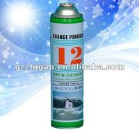 R12 Refrigerant for Auto Air Conditioner