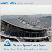 High quality space frame construction metal roof