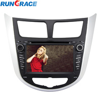 RUNGRACE touch screen 2 din android accessories parts hyundai verna fluidic car dvd gps navigation touch screen player