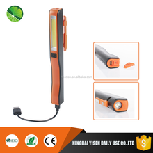 Inspection Technology Hand Torch Rechargeable LED Lamp Work Light with USB Charging Port