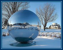 large outdoor christmas decorations metal stainless hollow steel ball