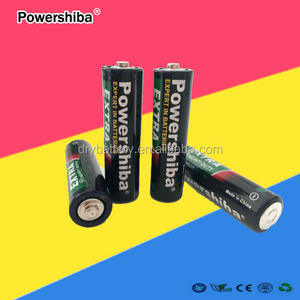 hot sale mercury -free carbon zinc AA dry battery for home use