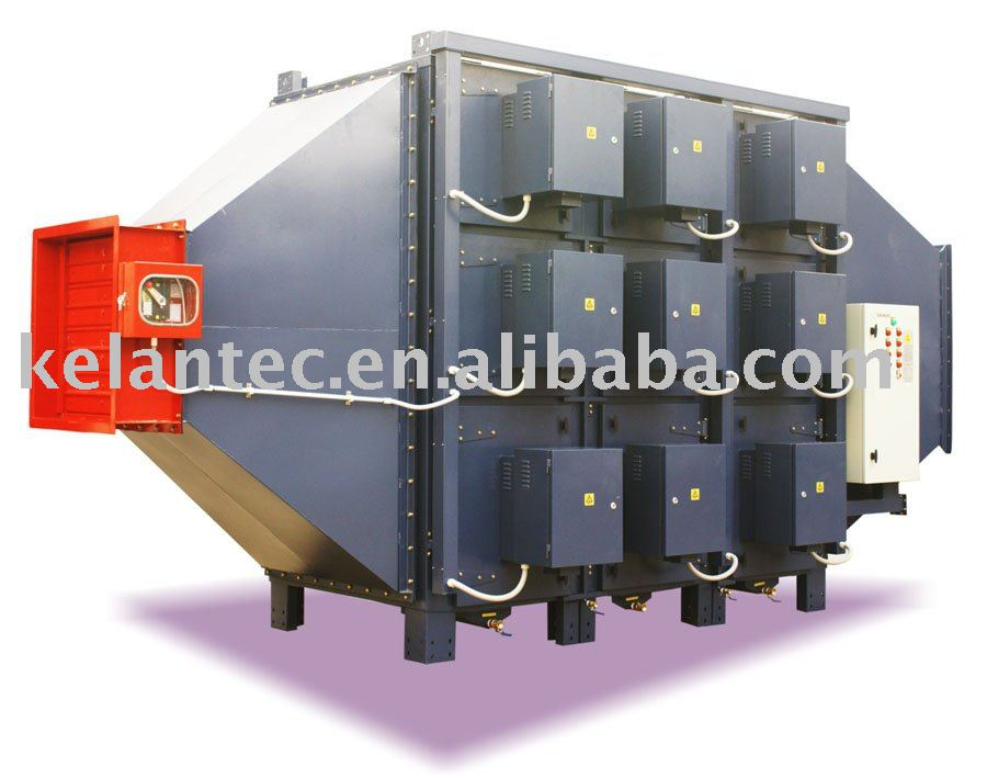 Industrial Oil Mist Eliminator with Electrostatic Air Filter