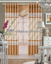 2015 Hot sale the new jacquard latest fashion curtain designs
