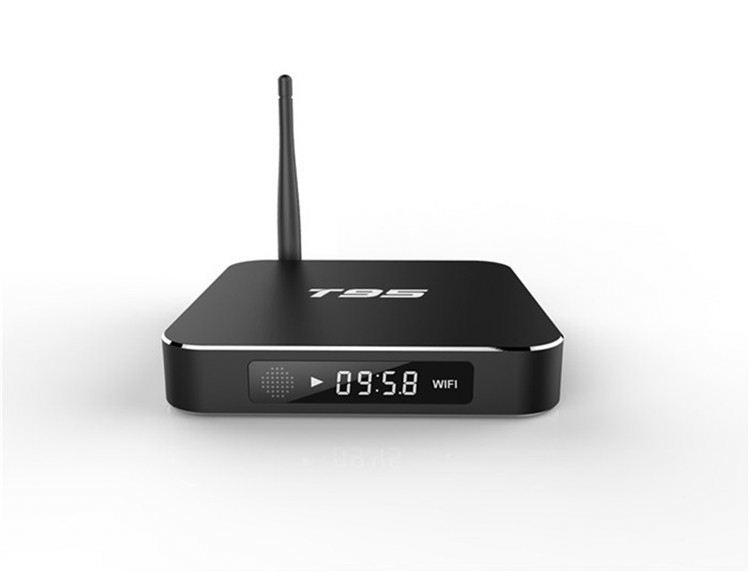 Cloudnetgo Amlogic 905 Chipset Android 5.1 Tv Box T95 Lcd Display Octa Core 2.0Ghz With Kodi 16.0 1G/2G+8G 4K 64Bit Tv Box
