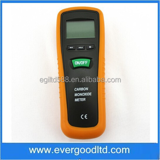 HT-1000 Handheld Digital LCD Backlight Carbon Monoxide Meter 0-1000PPM CO Gas Detector Tester