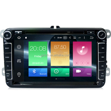 8 inch iandroid 8.0 octa Core 4GB 32GB Car DVD Player For VW Volkswagen golf 5 6 Polo Passat Tiguan Jetta full touch WS-9449
