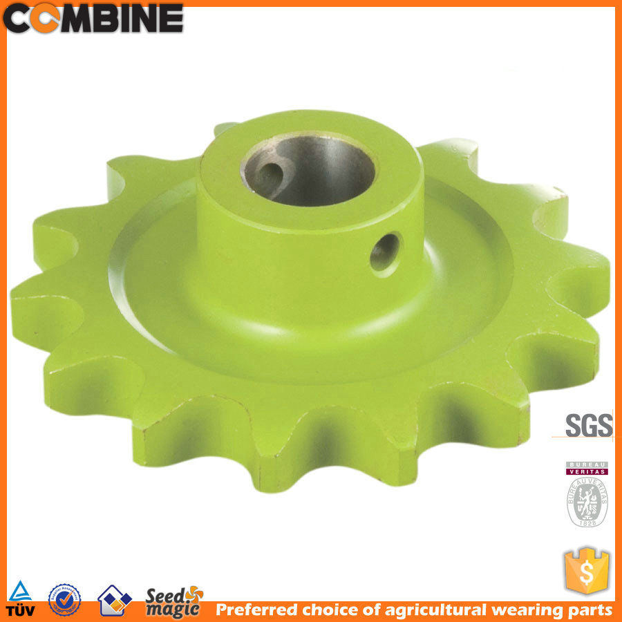 chain wheel sprocket for agricultural machinery
