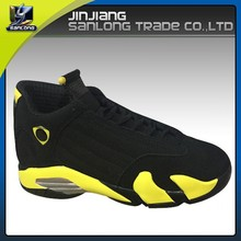 outdoor professional mens brand black fancy basketball shoes