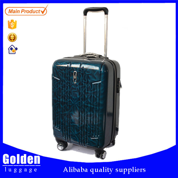 plastic luggage products abs spinner luggage 3D eyes protection design unique luggage from Baigou