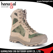 China army military green color canvas shoes jungle boots men