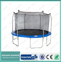 15ft outdoor bounce trampoline with net