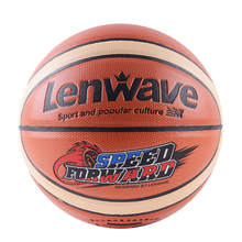 Lenwave brand basketball ball leather customize your own basketball