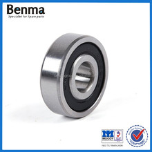 China Manufacture 6200 motorcycle bearings 6202 2RS deep groove ball bearings