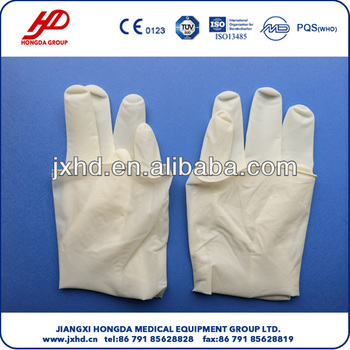 Disposable Sterile Surgical Latex Gloves