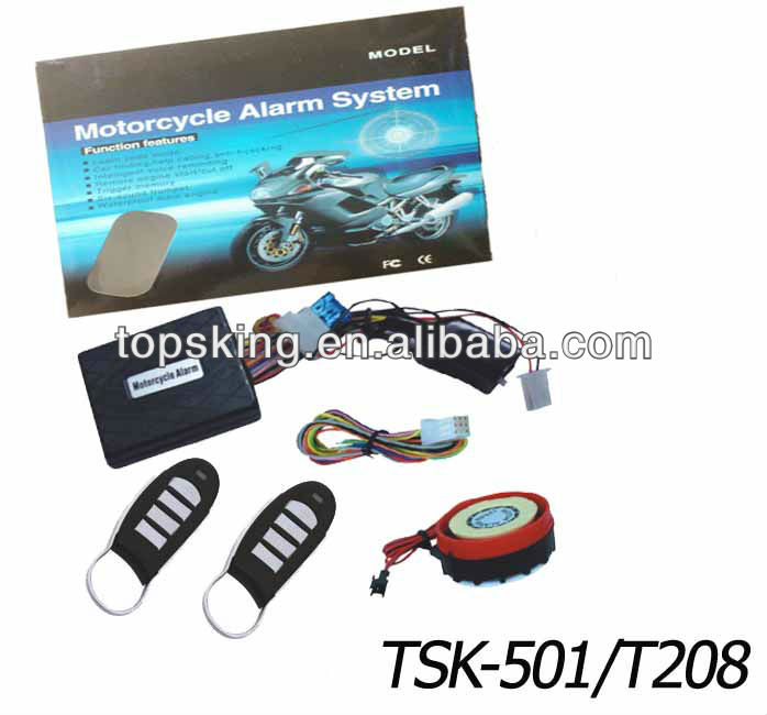 New package scorpio motorcycle alarms