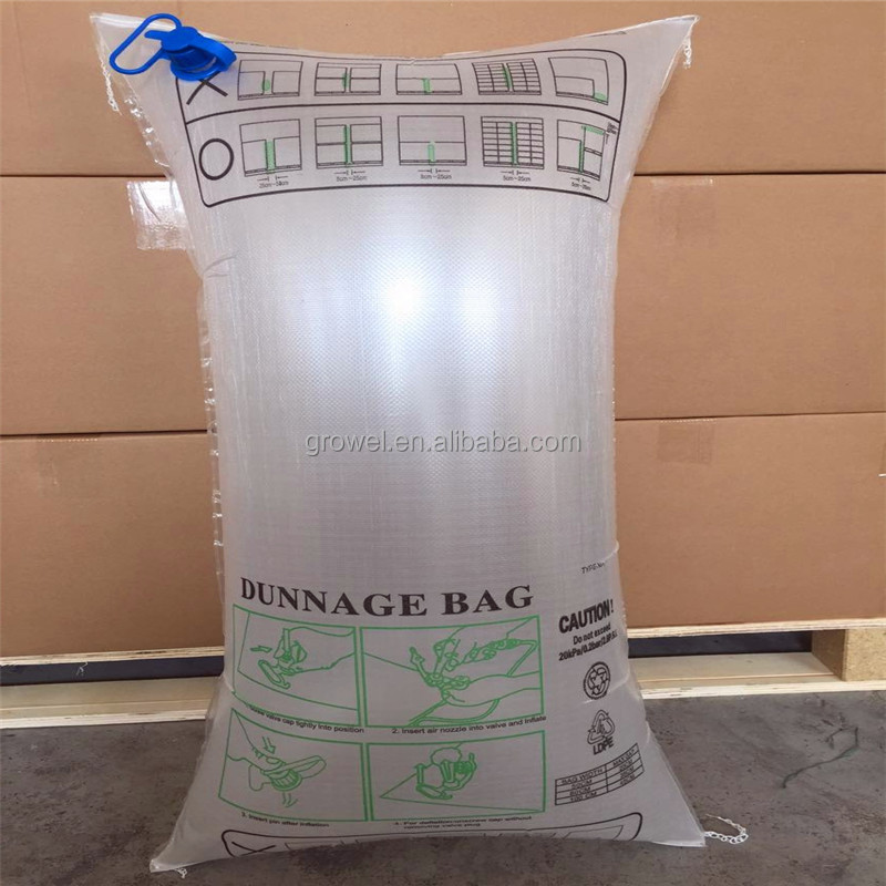 High Quality PP container dunnage airbags Avoid Transport Cargo Damage Container Air Dunnage Bag
