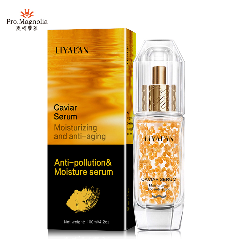 Anti-Aging Wrinkle Face serum made with 24k gold Caviar