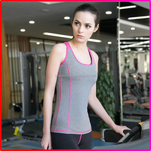 2016 Tight soft girl sport running gym tops suit