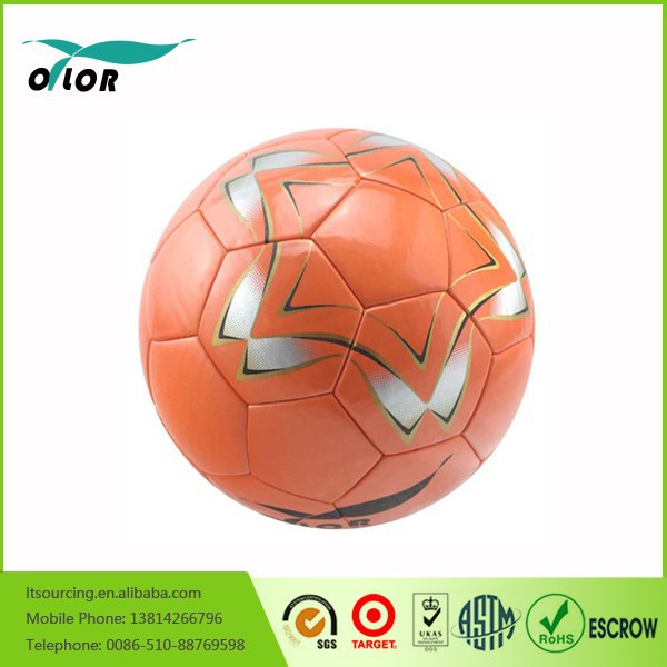 Colorful no stitch laminated street soccer ball