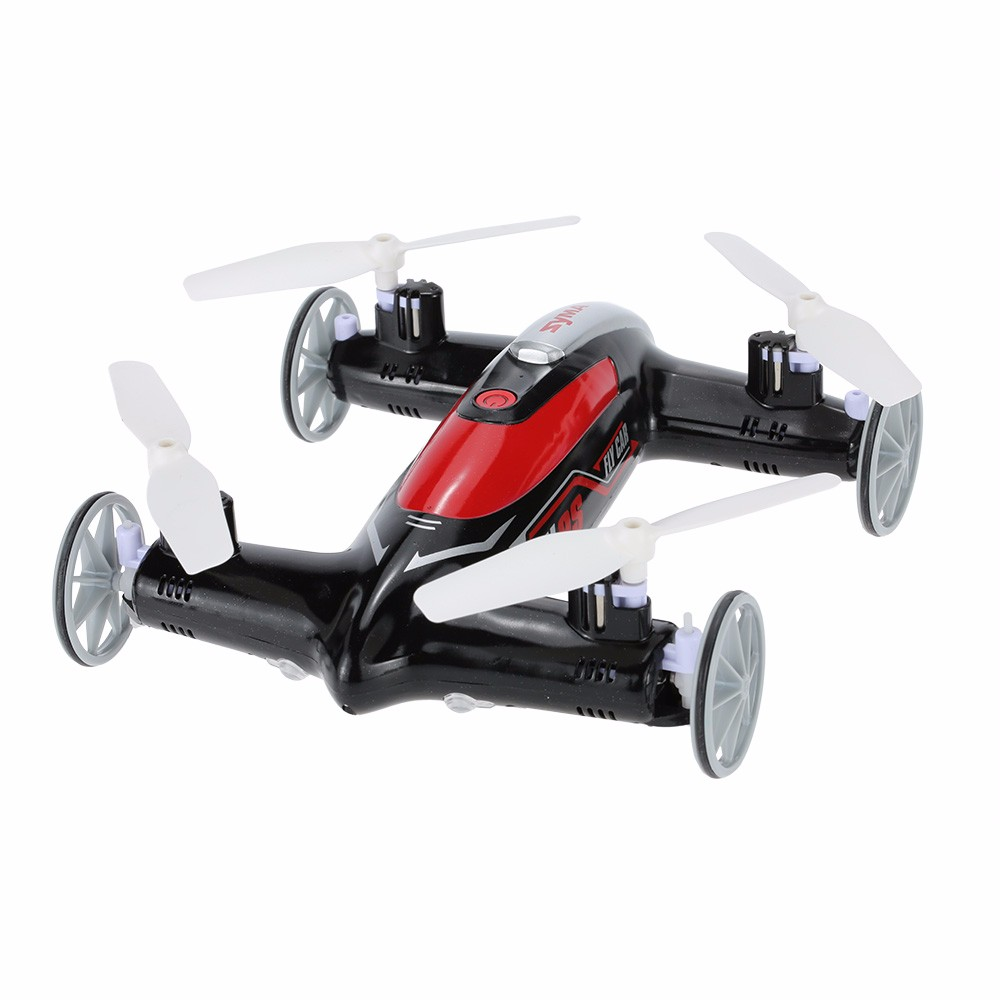 Original SYMA X9S 2.4G 4CH 6-Axis Gyro RC Flying Car with 3D-flip Headless Mode Function