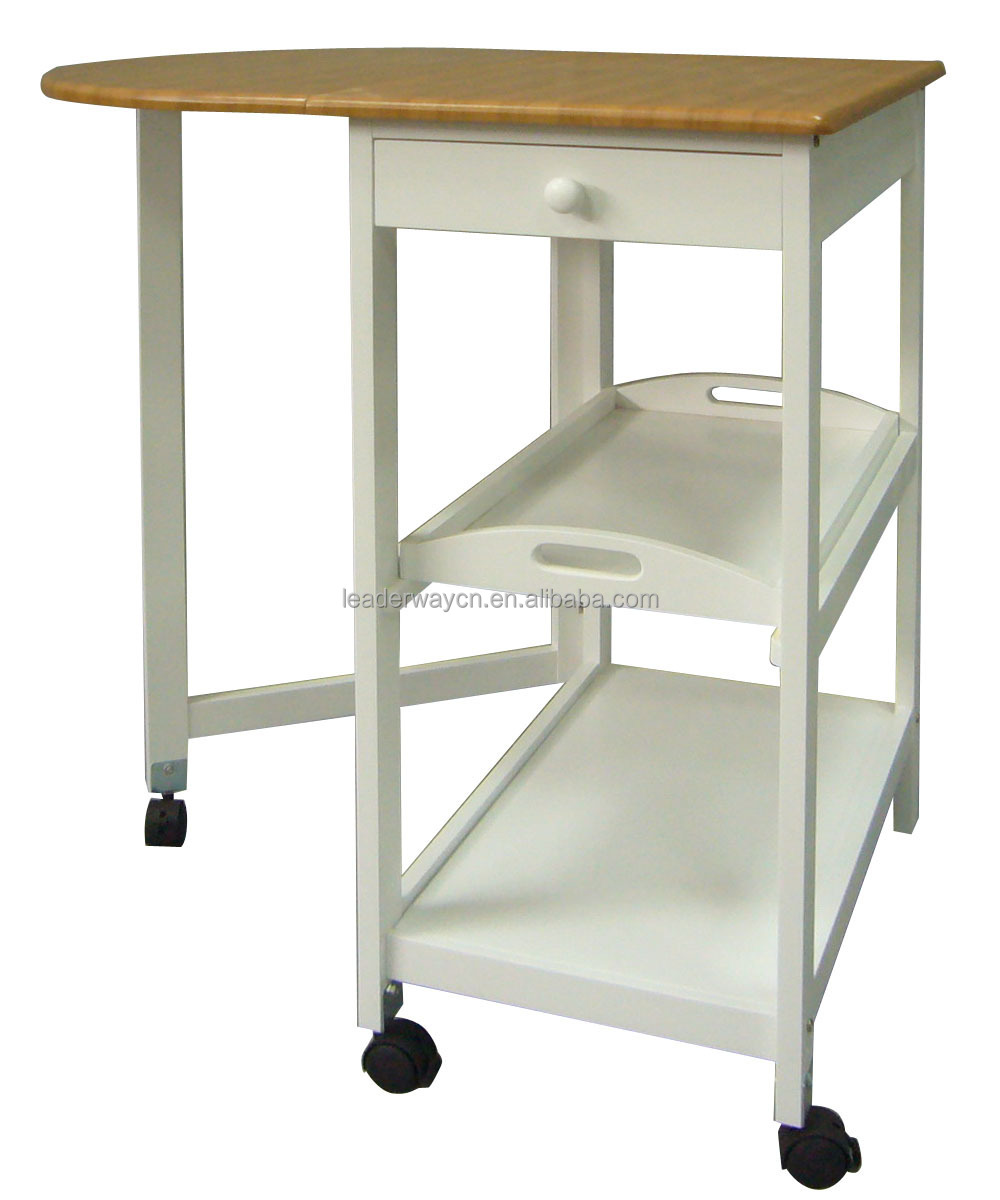 New design good prices foldable kitchen trolley buy for Kitchen trolley designs for small kitchens