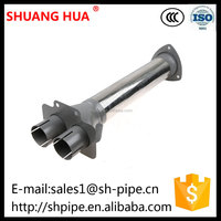 Kamaz Truck Parts, Stainless Steel Exhaust Flexible Pipe, Shuanghua Flexible Exhaust Manifold