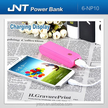 rechargeable mobile power bank supply for iPhone,iPad,smart phones NP10