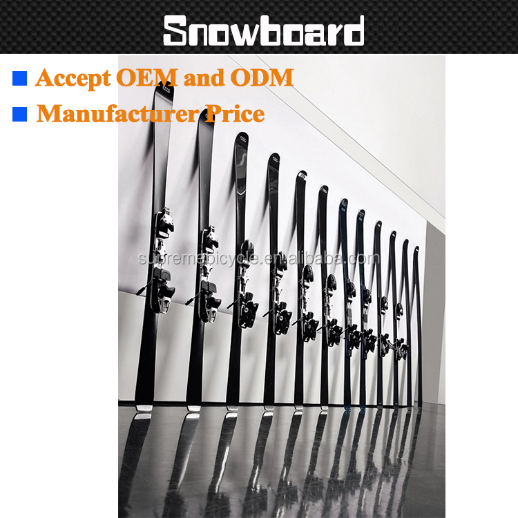 Custom lightweight carbon fiber snowboard and OEM or ODM good quality ski product