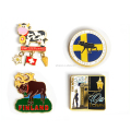 Wholesale Price High Quality Different Countries Souvenirs Unique Refrigerator Magnets OEM Design Promotional Magnet