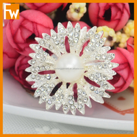 hot sale flower chair sash brooch design