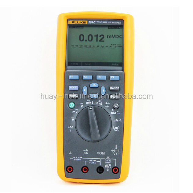 Original Fluke 289 True RMS digital multimeter, portable fluke 289 ac dc digital multimeter with True RSM and frequency 1000V