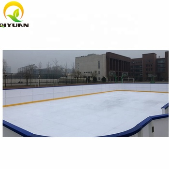 High Efficient Artificial Synthetic Ice Hockey Rink