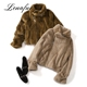 Competitive Cheap Price Luxury Woman Mink Fur Coat